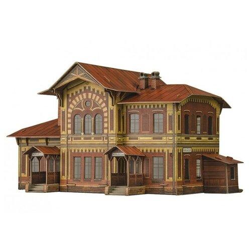 Купить Сборная модель Умная Бумага Железнодорожная станция Можайская (309) 1:87, Сборные модели