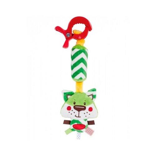 Купить Подвесная игрушка Canpol Babies Лесные друзья (68/043) Лисенок зеленый, Подвески
