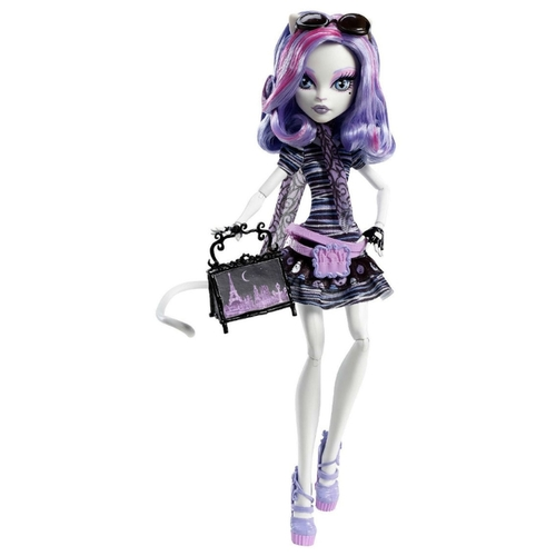 Кукла Monster High Скариж город страхов Катрин Де Мяу, 27 см, Y7295 Куклы и пупсы