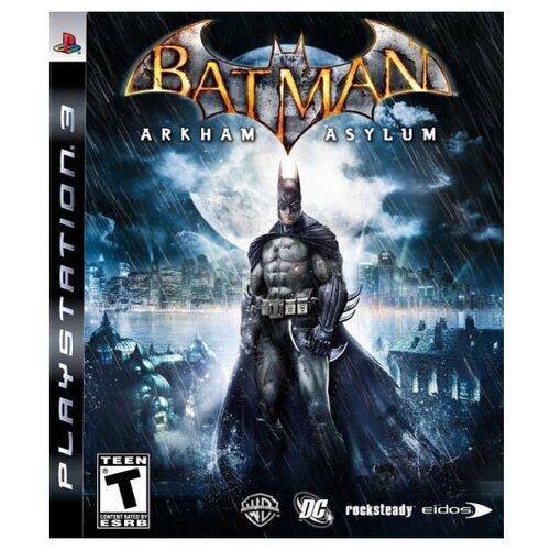 Игра для PlayStation 3 Batman: Arkham Asylum, английский язык