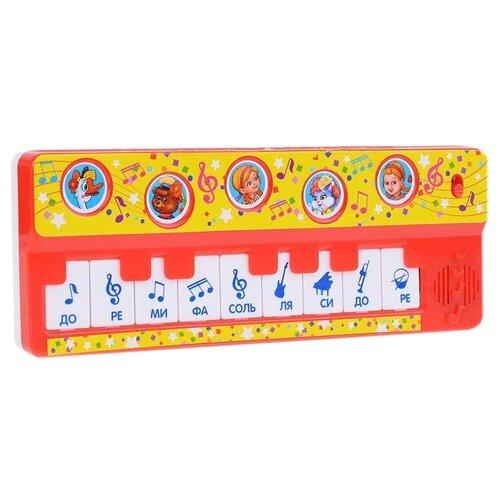 Купить Умка пианино B1517258-R2 красный, Детские музыкальные инструменты