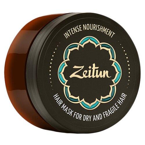 Zeitun Маска для волос Интенсивное питание для сухих и ломких волос с маслом ши и клещевины, 200 мл маска для волос сила аргинина х3 с укрепляющей сывороткой