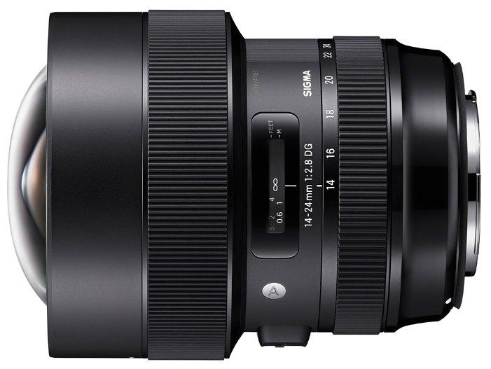 Объектив Sigma 14-24mm f/2.8 DG HSM Art Canon EF