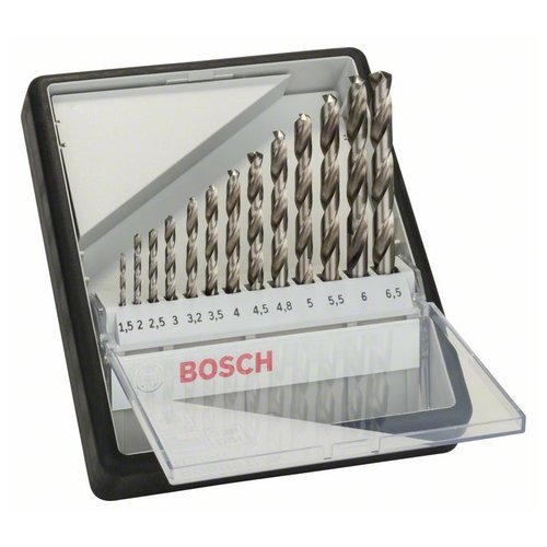 Набор сверл BOSCH Robust Line 2.607.010.538 набор сверл bosch robust line multi construction 2 607 010 521 4 шт