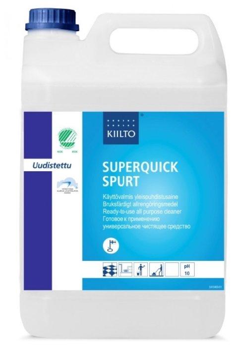 Жидкость KiiltoClean SuperQuick Spurt для мойки водостойких поверхностей