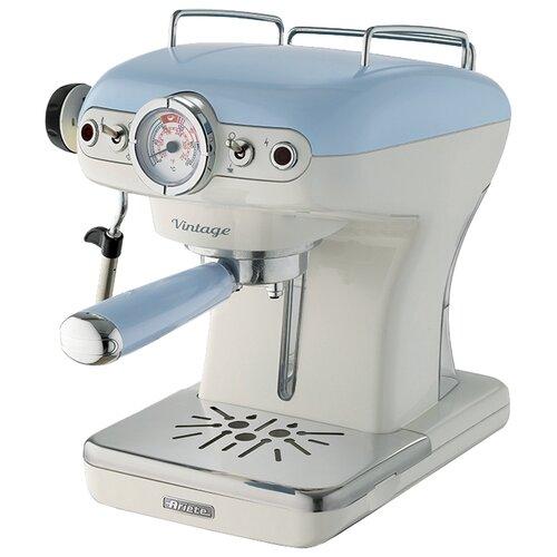 Кофеварка рожковая Ariete 1389 Vintage голубой кофеварка ariete 1388 retro red
