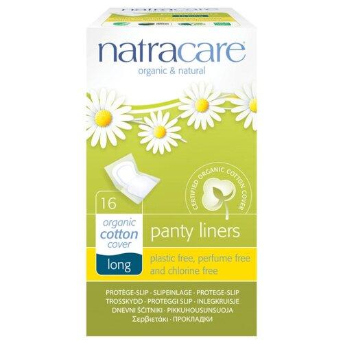 Natracare прокладки ежедневные Long daily 16 шт.Прокладки и тампоны<br>