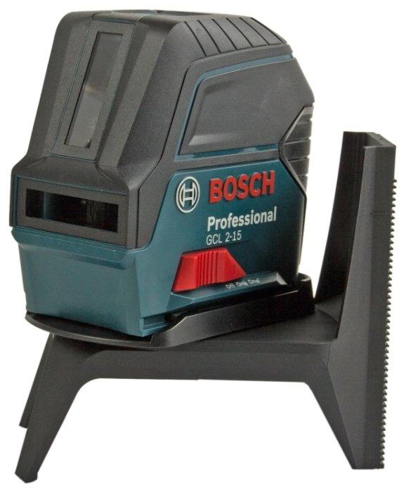 Лазерный уровень Bosch GCL 2-15 Professional + RM 1 Professional (0601066E00)