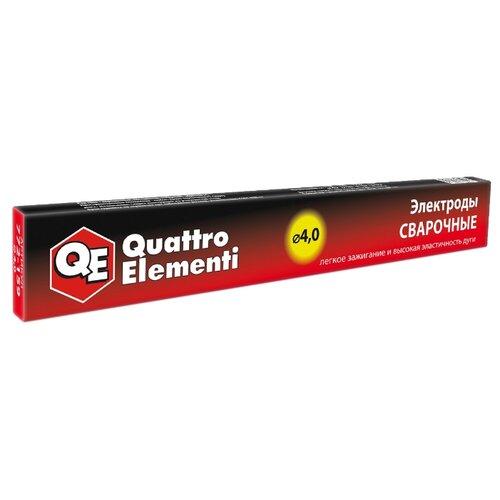 Электроды для ручной дуговой сварки Quattro Elementi 772-159 4мм 0.9кг набор пневмоинструмента quattro elementi 3 предмета 772 128