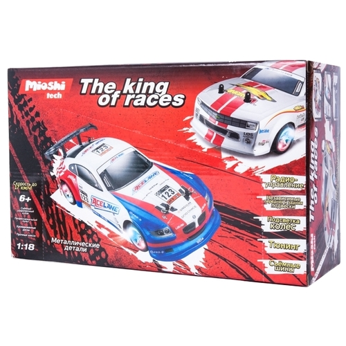 Гоночная машина Mioshi Tech The king of races (MTE1201-004) 1:18