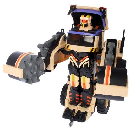 Купить Робот-трансформер Jia Qi Troopers Velocity Каток черный/коричневый, Роботы и трансформеры