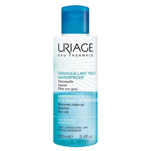 Uriage средство для снятия водостойкого макияжа с глаз Waterproof Eye Make-Up Remover, 100 мл средство для снятия водостойкого макияжа с глаз 100 мл uriage гигиена uriage