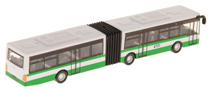 Автобус ТЕХНОПАРК с гармошкой (1428860-R) 18 см — купить ...