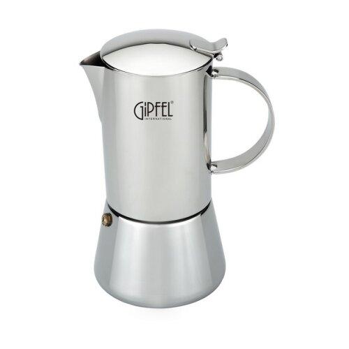 Гейзерная кофеварка GIPFEL Isabella 7120 500 мл, серебристый