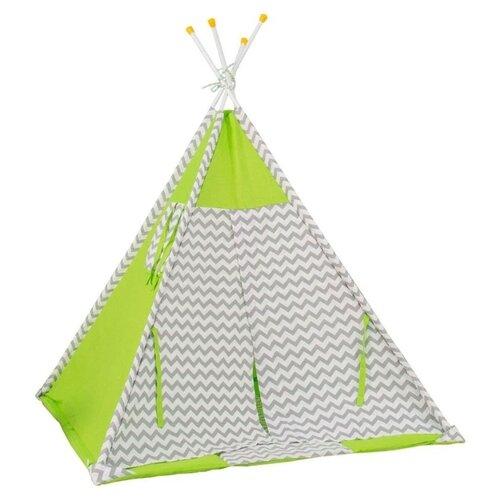 Палатка Polini Зигзаг зеленый