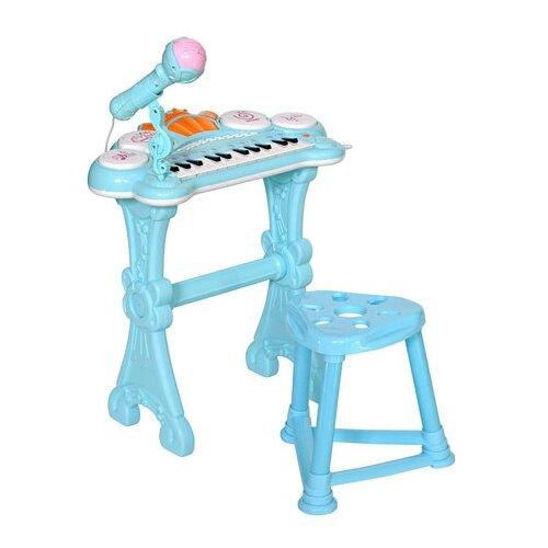 цена на Everflo музыкальный центр Пианино голубой