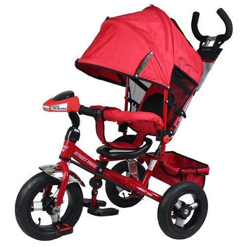 Купить Трехколесный велосипед Street trike A03D, красный, Трехколесные велосипеды