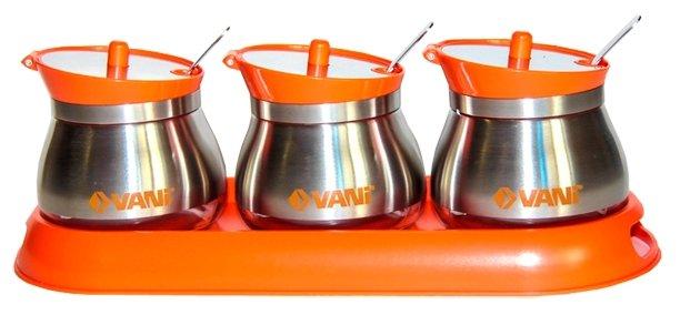 VANI Набор банок для специй на подставке V9272
