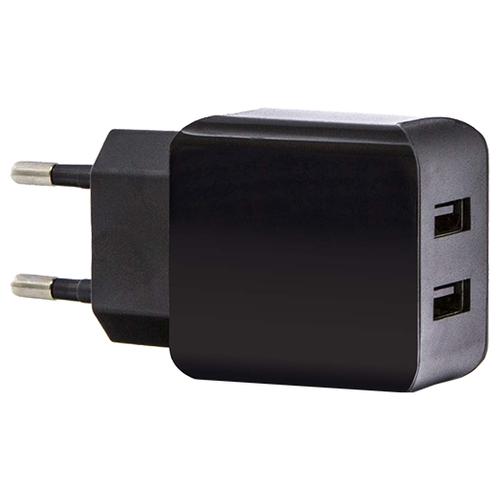 Сетевая зарядка Media Gadget HPS-221U черный