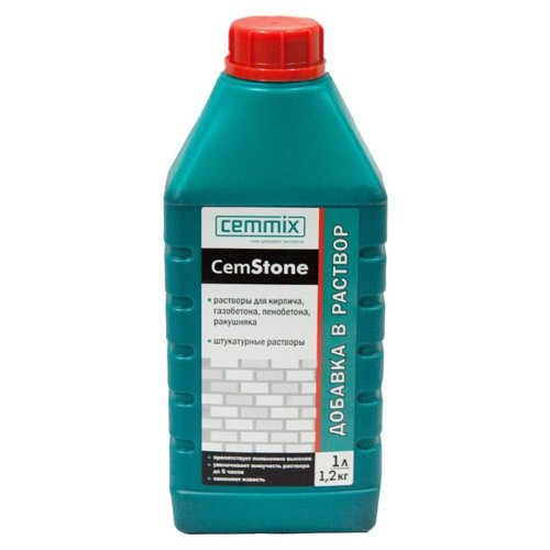 Добавка пластификатор Cemmix CemStone 1 л
