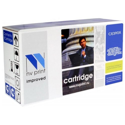 Фото - Картридж NV Print CE390X для HP, совместимый картридж hi black hb ce390x