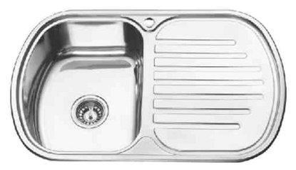 Врезная кухонная мойка Ledeme L67749-6L 77х49см нержавеющая сталь