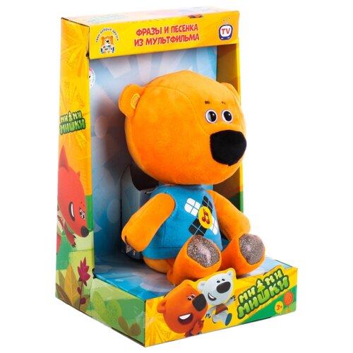 Мягкая игрушка Мульти-Пульти Ми-ми-мишки Медвежонок Кеша озвученный 25 см в коробке мягкая игрушка мульти пульти попугай кеша 18 см