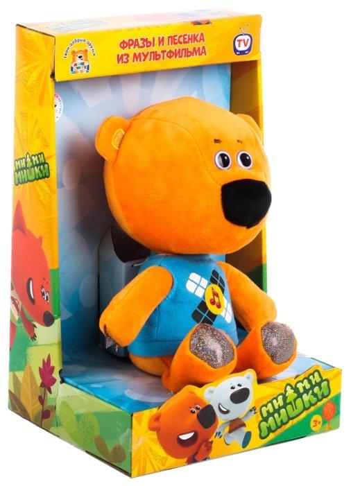Мягкая игрушка Мульти-Пульти Ми-ми-мишки Медвежонок Кеша 25 см в коробке 4 фразы и 1 песенка