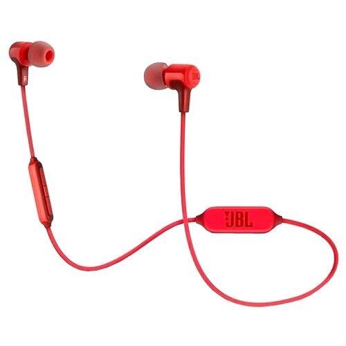 Беспроводные наушники JBL E25BT красный гарнитура jbl e25bt синий