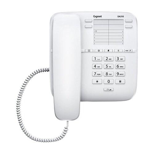 Телефон Gigaset DA310 белый  - купить со скидкой
