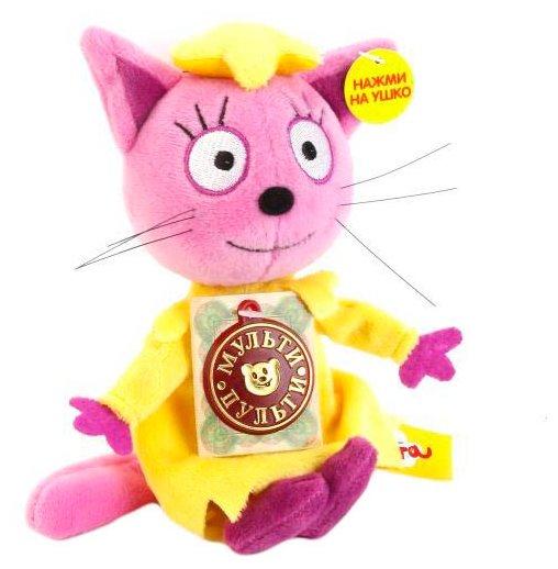 Мягкая игрушка Мульти-Пульти Три кота Лапочка 13 см