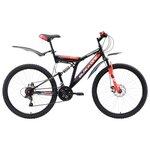 Велосипед для взрослых Black One Phantom FS 26 D (2018)