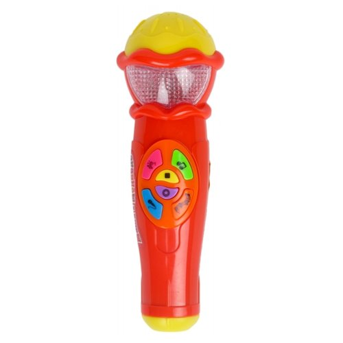 Купить Играем вместе микрофон Маша и Медведь A848-H05031-R2 красный, Детские музыкальные инструменты