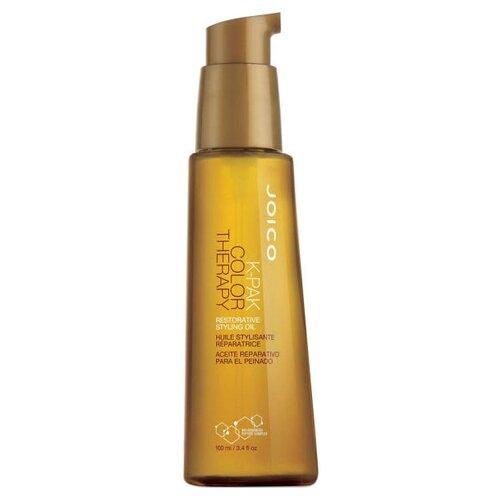 Фото - Joico K-Pak Color Therapy Масло восстанавливающее стайлинговое для волос, 100 мл joico мусс для укладки с термозащитой k pak 300 мл