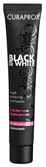 Зубная паста Curaprox Black Is White, лайм