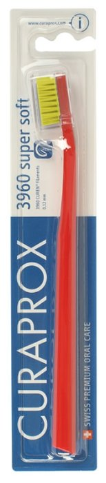 Зубная щетка Curaprox CS 3960 super soft — купить по выгодной цене на Яндекс.Маркете