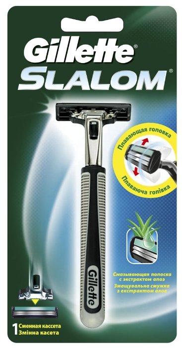 Сменные кассеты для бритья Gillette, (Жиллет) Fusion ProGlide Power 2 штуки, для мужчин