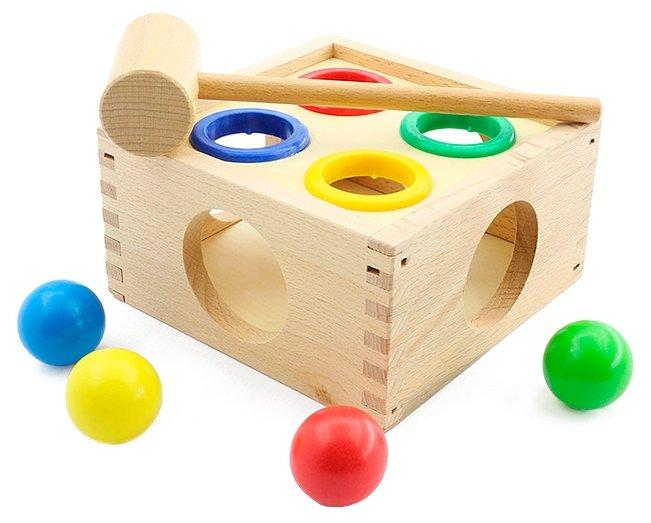 Игра с молотком Стучалка Мир деревянных игрушек