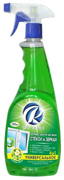 Спрей Rio Royal Зеленое яблоко для мытья стёкол и зеркал