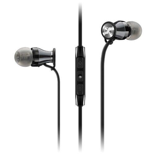 Наушники Sennheiser Momentum 2.0 In-Ear (M2 IEG) черный/хром наушники sennheiser momentum 2 0 in ear m2 iei черный красный