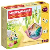 Магнитный конструктор Magformers My First 702013-30 Нежные цвета