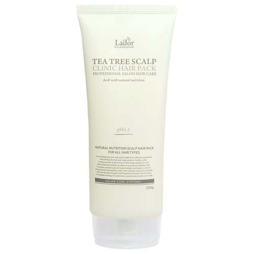Купить La'dor Маска с экстрактом чайного дерева для очищения кожи головы, 200 г