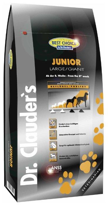 Корм для собак BEST CHOICE Junior Large/Giant