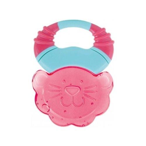 Купить Прорезыватель Canpol Babies Сафари 56/140 розовый лев, Погремушки и прорезыватели