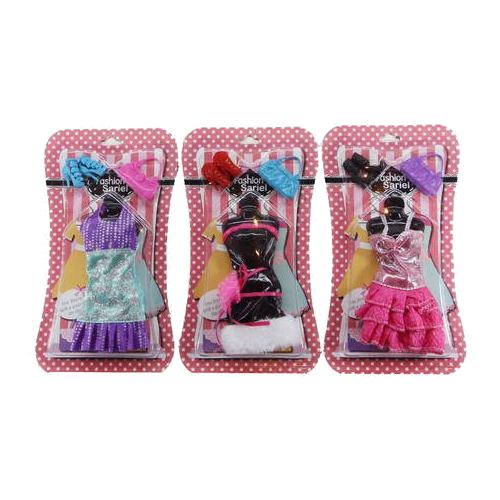 junfa toys комплект одежды для кукол blc11 белый синий Junfa toys Комплект одежды и аксессуаров для кукол 29 см 3313-A