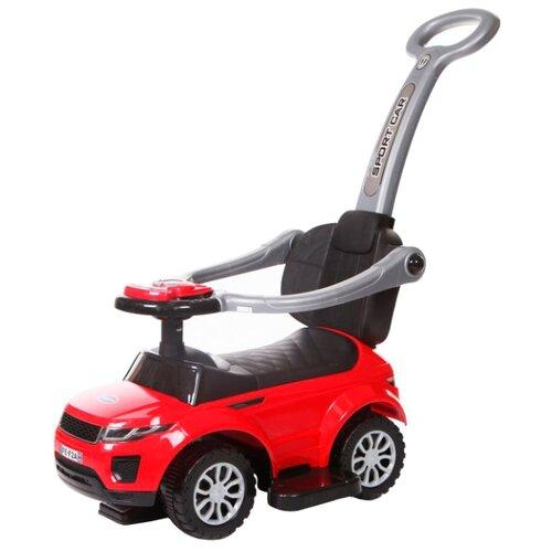 Купить Каталка-толокар Baby Care Sport Car (614W) со звуковыми эффектами красный, Каталки и качалки