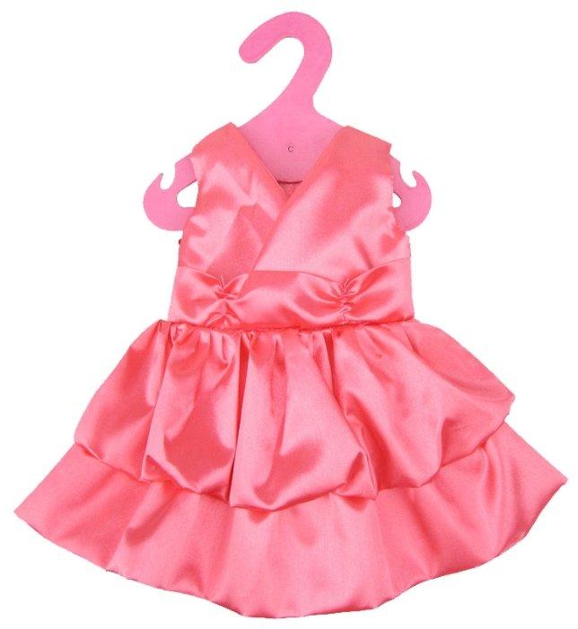 Junfa toys Атласное платье для кукол My Little Baby GCM18-12