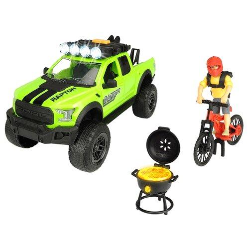 Набор техники Dickie Toys Playlife Bike Trail (3835003) зеленый/красный dickie toys сигнал регулировщика со светом 25 см dickie toys