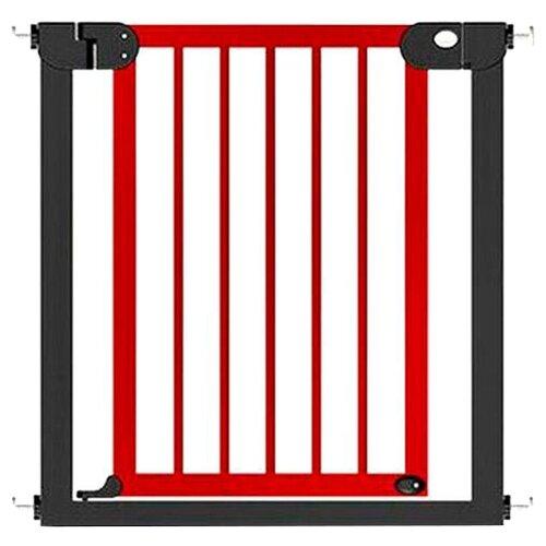 Купить Baby Safe Ворота безопасности 75-85 см XY-006 черный металл/темное дерево, Ворота безопасности, перегородки
