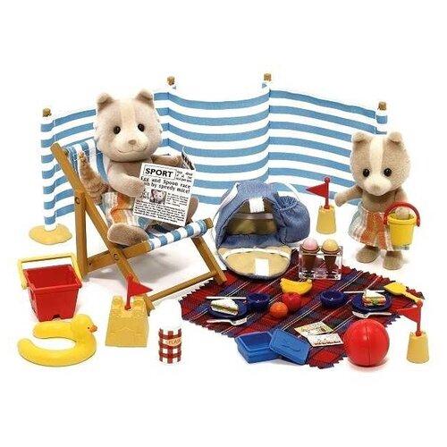 Купить Игровой набор Sylvanian Families День на море 2238/4870, Игровые наборы и фигурки